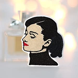 Audrey Hepburn Patch Aufnäher