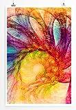 Magnificent Blossom - modernes abstraktes Bild Sinus Art - Bilder, Poster und Kunstdrucke