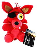 Five Nights At Freddys 12 Plush: Foxy