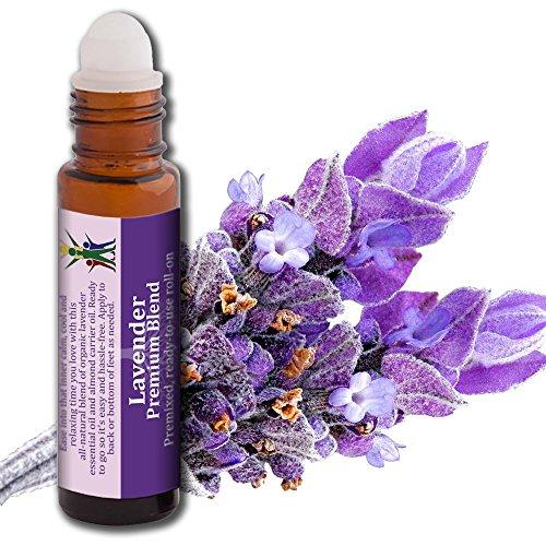 Lavendelöl - beruhigende Mischung aus ätherischen Ölen, 100% natürlich & sicher Roll-on 10 ml von AROMATA