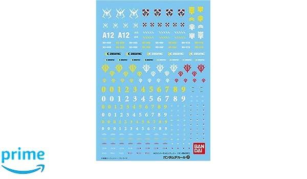 BANDAI Model Kit/ /55715/Decal 108/z//Gundam ZZ 1 19607