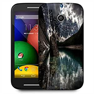 Snoogg Lake View Designer Protective Phone Back Case Cover For Motorola E2 / MOTO E22