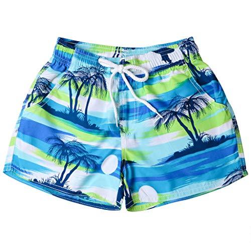 NFASHION Damen Herren Shorts Badehose schnell trocken Strand Surfen Laufen Schwimmen Watershort Valentinstag Fuer ihn/sie ()