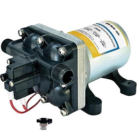 Pression pompe Shur Flo ls4144Soft Série 12V–11,3l–3,1bar avec pré-filtre