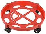 #3: Capital Gas Cylinder Trolley With Wheels|Gas Trolly|Lpg Cylinder Stand,Color May Vary