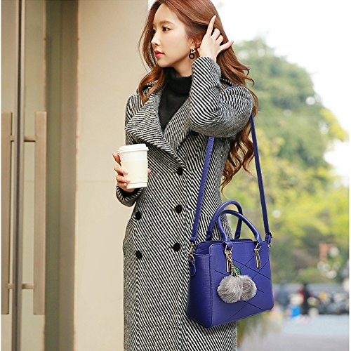 (G-AVERIL)nuovo pacchetto onda signore borsa Messenger Bag donne per le donne borsa grigio