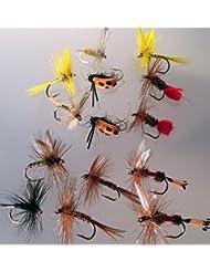 Mouches à pêche DRY FLY Selection Sélection classique 14 mouches PACK # 6