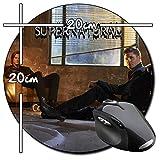 Sobrenatural Supernatural Jensen Ackles Jared Padalecki B Tapis De Souris Ronde Round Mousepad PC