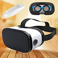 """Virtual Reality Headset, Bevifi 3D VR Glasses Mobile Phone 3D Videos for iPhone 7 Plus/7/6s/6s/SE/5S Samsung S8/S7/S7 Edge/S6/Note5/Grand Prime/A3/A5 2016 and Other 4.0""""-6.0"""" Cellphones"""