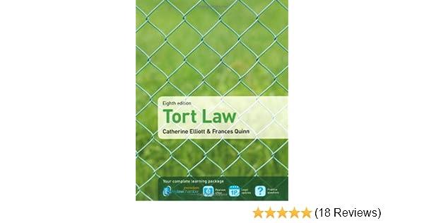 Tort law amazon catherine elliott frances quinn tort law amazon catherine elliott frances quinn 9781408286371 books fandeluxe Choice Image