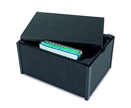 BEST Kissenbox/Beistelltisch Roma, graphit, 79 x 59 x 42 cm, 13959050
