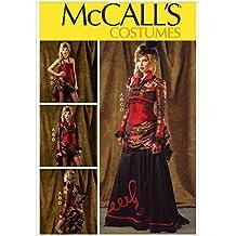 McCalls-6911-Cartamodello storico per gonna e corsetto, motivo Bolero& Overskirt Free Minerva Crafts Craft-Guida