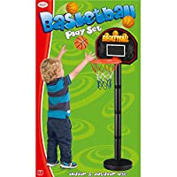 Toyrific 1.2 m Junior Basketball Play Set with Ball and Pump