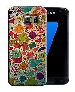 PrintFunny Designer Printed Case For SamsungS7