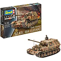 Revell revell03254 24,2 cm SD. KFZ. 184 Tanque Hunter Elefant Modelo Kit