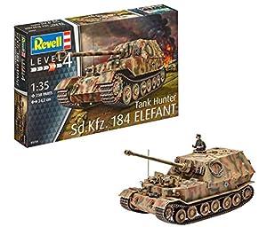 Revell- SD. Kfz. 184 Tank Hunter Elefant Maqueta Tanque de Guerra, 12+ Años, Multicolor (03254)