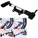 #4: Home Cube Multi-Functional Mini Portable Bike Bicycle Aluminum Alloy Air Pump Mountain Bike Cycling Tire Inflator Cycling Accessories.