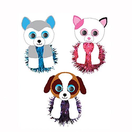 Preisvergleich Produktbild Darice Beanie Boo Mini-Lametta Pom Pom-Set, mehrfarbig