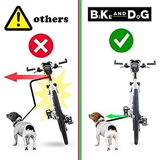 BIKE-AND-DOG-Correa para Bici de Perro