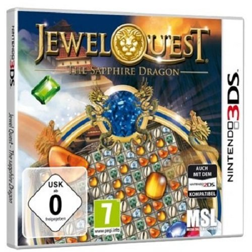 Jewel Quest 6 - The Sapphire Dragon (3DS) (Jewel S Quest)