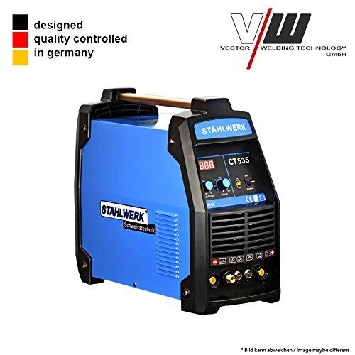 STAHLWERK Schweißgerät CT535 S Inverter Mit plasma WIG ARC MMA STICK Elektrode