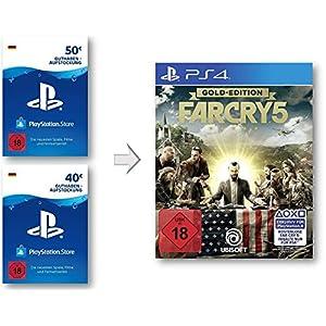 PSN Guthaben Aufstockung für Far Cry 5 Gold – PSN Guthaben Far Cry 5 Gold Edition | PS4 Download Code – deutsches Konto