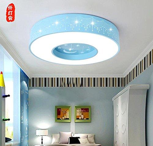 GQLB Le stelle LED lampade circolari boys luce camera da letto camera dei bambini luce da soffitto 500mm, 3 luce di