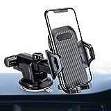 VANMASS Auto Handyhalterung Handyhalter fürs Auto Armaturenbrett Windschutzscheiber Kfz Handy Halterung mit Saugnapf mit 360°Kugelgelenk und Teleskoparm für iPhone Samsung Huawei LG Navi und GPS