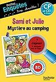 Sami et Julie Mystère au camping CP - Cahier de vacances...