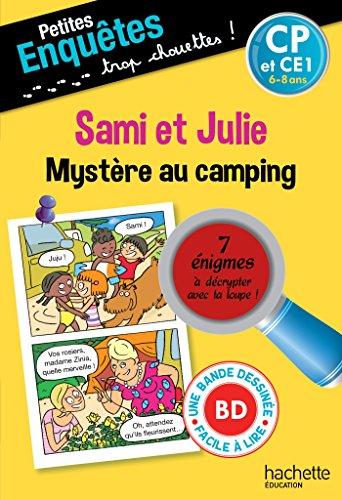 Sami et Julie Mystère au camping CP - Cahier de vacances par Emmanuelle Massonaud