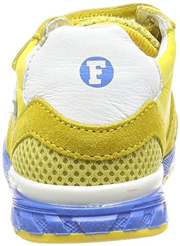 Naturino Falcotto Lorin Vl Baby Jungen Sneaker Gelb (VEL./RETE/NYLON/NAPPA GIALLO-BIANCO)