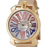 Gaga Milano orologio da uomo 5081.1spedizione gratuita stock