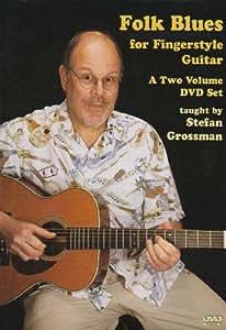 Folk Blues For Fingerstyle Guitar [DVD] [Region 1] [NTSC]