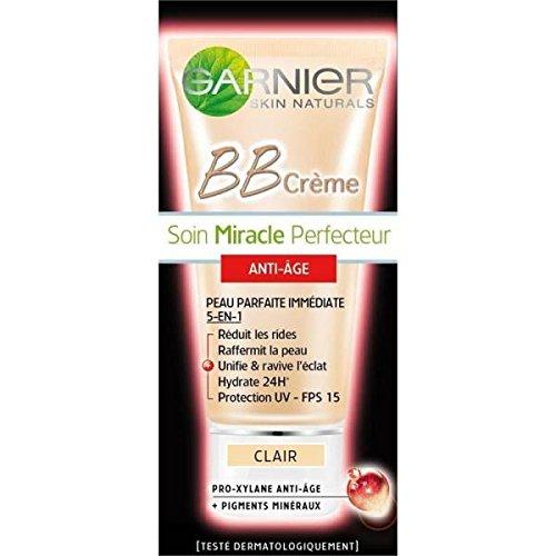 Garnier skin naturals BB cream anti-âge clair tube 50ml - ( Prix Unitaire ) - Envoi Rapide Et Soignée