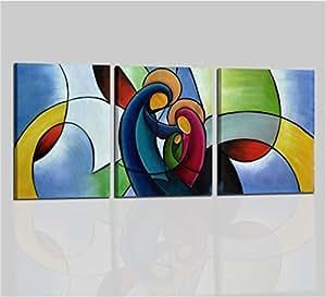 Quadri moderni trittco trittici religiosi sacra famiglia for Sacra famiglia quadri moderni