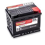 ECTIVE 64Ah 630A EPC PLUS-Serie 12V Autobatterie in 8 Varianten: 47Ah - 105Ah (wartungsfrei)