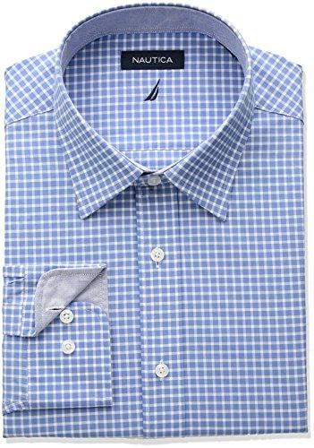 Nautica da uomo   camicia per completo Blue