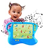 Boxiki kids Tablet per l'Apprendimento in Lingua Inglese con 10 Schede Didattiche by Gioco da Tavolo per Bambini con Funzione Tocca e Impara | Smart Pad per Giochi Didattici Infantili