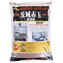 Bonsai de tierra akadama 1–2mm Ibaraki rígida, Double Line 2litros