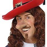 NET TOYS Nariz Larga de Pinocho | Colores de Piel con Adhesivo de látex líquido | Original Accesorio Unisex Nariz Larga Barón mentiroso | Ideal para festividades y carnavales