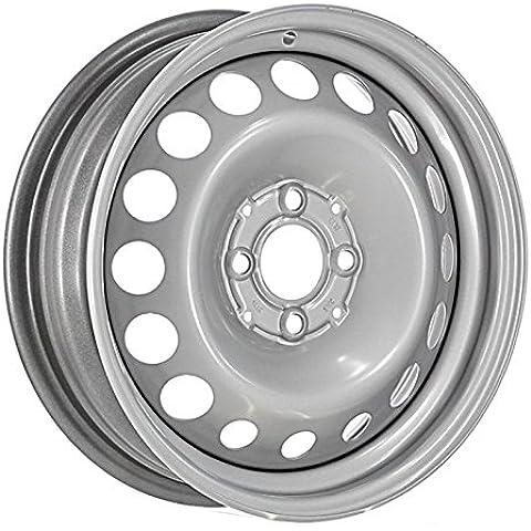 Círculos hierro AC4003 (VA Smart ForTwo, 2014-) 5 x 15 x 4 100 60 ET32 delantera Color: Silver gris/(Omol. CEPE 000869