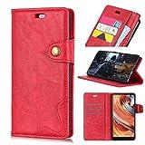 BELLA BEAR Case für Oppo AX7 Pro,Leder Brieftasche Geldbörse Halterung Funktion Weichem PU Material Phone Case Cover for Oppo AX7 Pro Hülle(Braun)