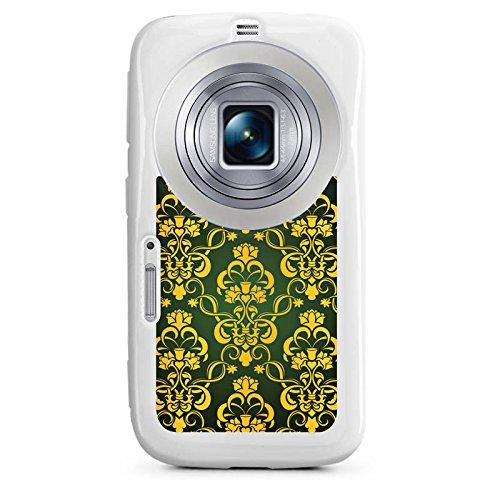 DeinDesign Samsung Galaxy K Zoom Hülle Silikon Case Schutz Cover Blumenmuster Krone Ornament
