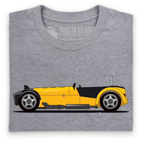 General Tee 7 Sports Car T-shirt, Uomo Grigio mlange