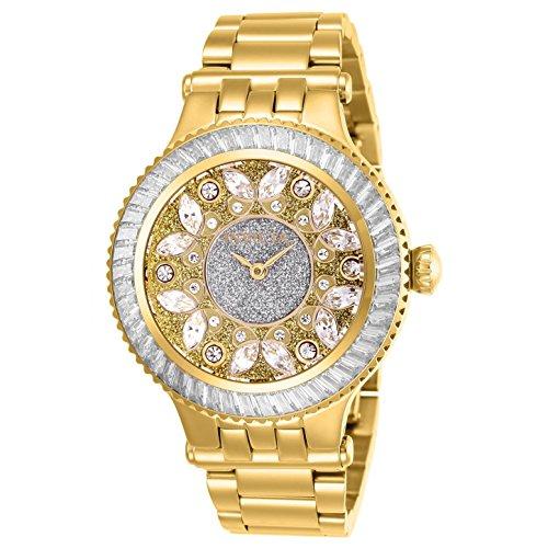 Invicta Women's Subaqua Gold-Tone Steel Bracelet & Case Quartz Watch 26155