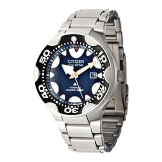 Citizen BN0016-55L – Reloj analógico de cuarzo para hombre con correa de titanio, color negro