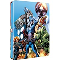 Ultimate Avengers - UK Exclusive Ultra Limited 2-Movie Blu-Ray Steelbook Edition 2,000 Copies Region B