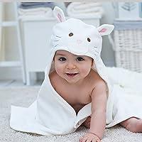 Bathing Bunnies Snowdrop Kitten Baby Hooded Towel