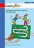 Lernspiele für den Deutschunterricht: Lesespiele 1/2: 1. / 2. Schuljahr: 17 Lernspiele rund ums Lesen