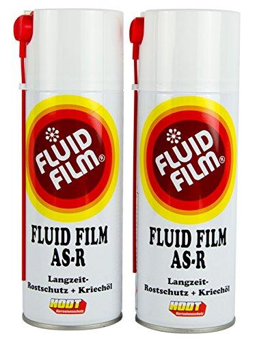 Preisvergleich Produktbild 2x FLUID FILM AS-R Rostschutz Korrosionsschutz Hohlraumversiegelung 400 ml